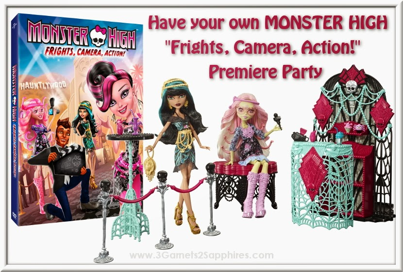 Host Your Own Monster High Frights, Camera, Action! Premiere Party