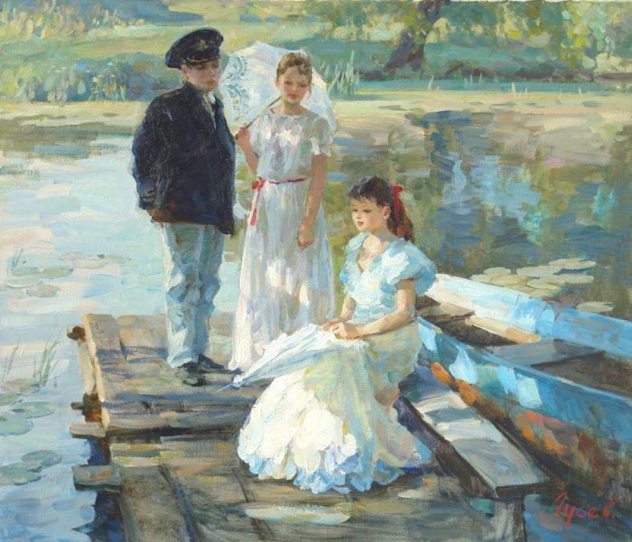 Российский художник. Владимир Гусев