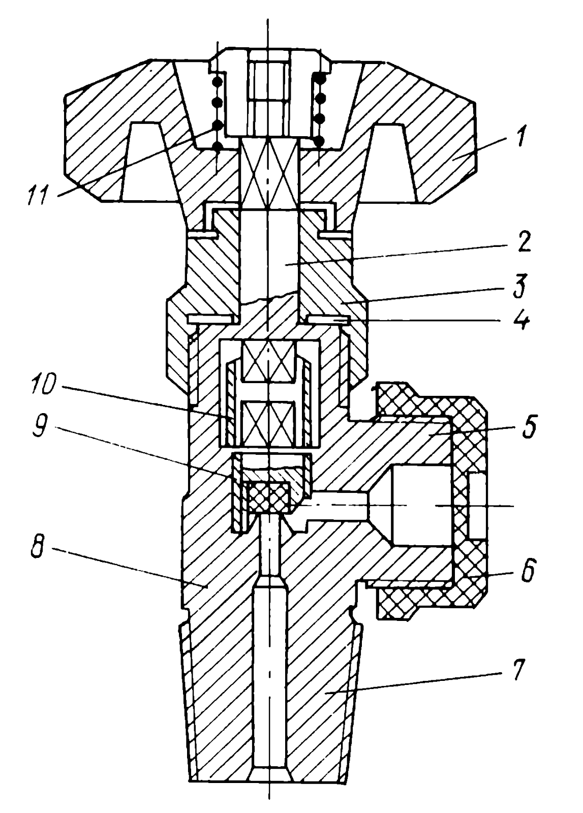 Устройство кислородного редуктора схема