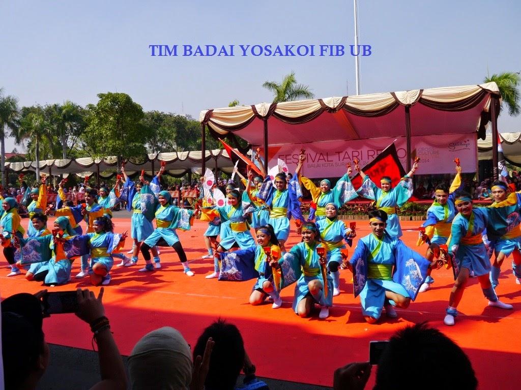 Foto Grup Yosakoi FIB Universitas Brawijaya