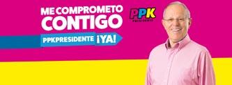 Pedro Pablo Kuczynski, candidato de Peruanos por el Kambio