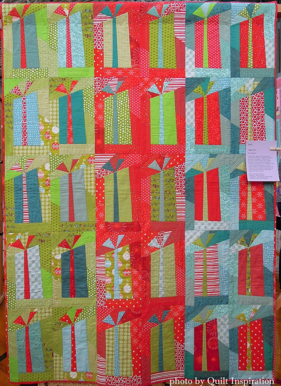 Quilt inspiration twelve days of christmas quilts simple gifts negle Choice Image