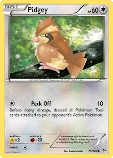 Pidgey Flashfire Pokemon Card