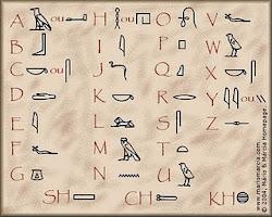 Alfabeto egipcio