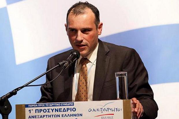 Παραίτηση Λελιάτσου από τους Ανεξάρτητους Έλληνες