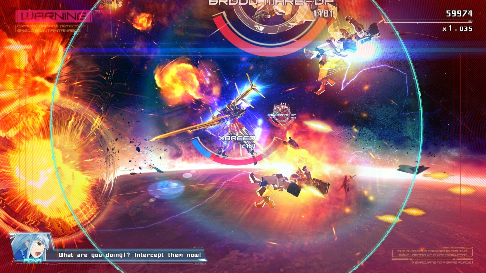 Astebreed screenshots