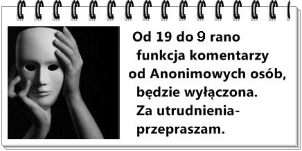 * Informacja dla osób anonimowych!