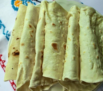 Flour Tortillas Homemade recipe