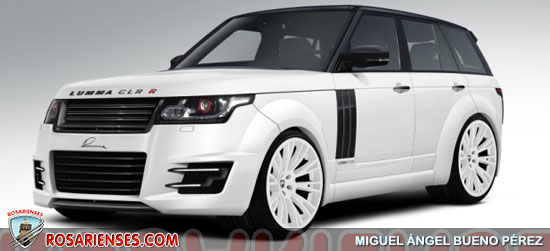 range rover clr r la nueva creaci n de lumma design rosarienses. Black Bedroom Furniture Sets. Home Design Ideas