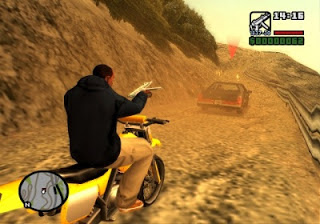 GTA San Andreas in mountains