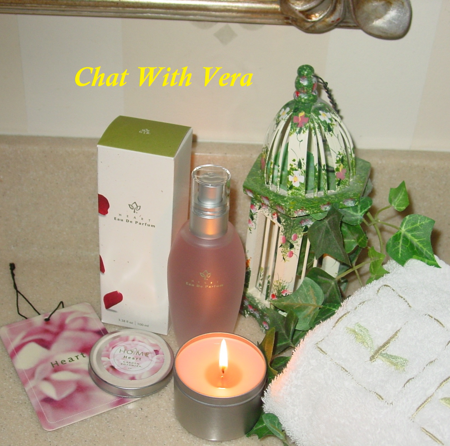 Chat with Vera Romance the fragrance Heart from Garden