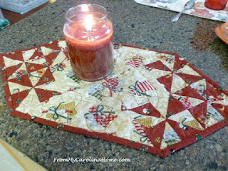 Fast and Easy Table Topper Tutorial