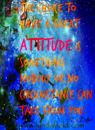 Keep a Positive Attitude!