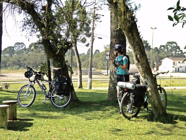 Férias muito loucas - Viagem de Bike Curitiba a Bombinhas/SC