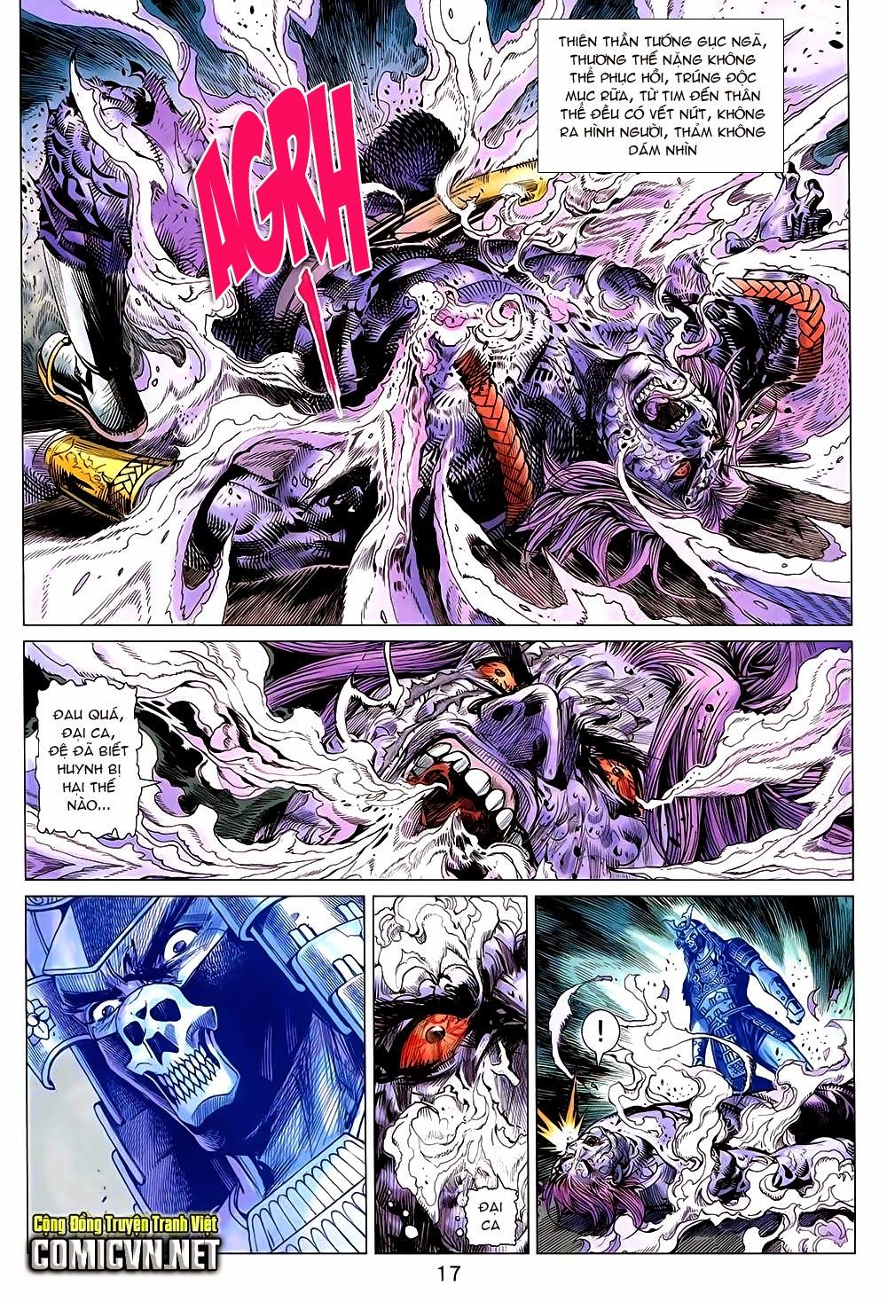 Thạch Hắc Long Truyện Chap 90 - Trang 17