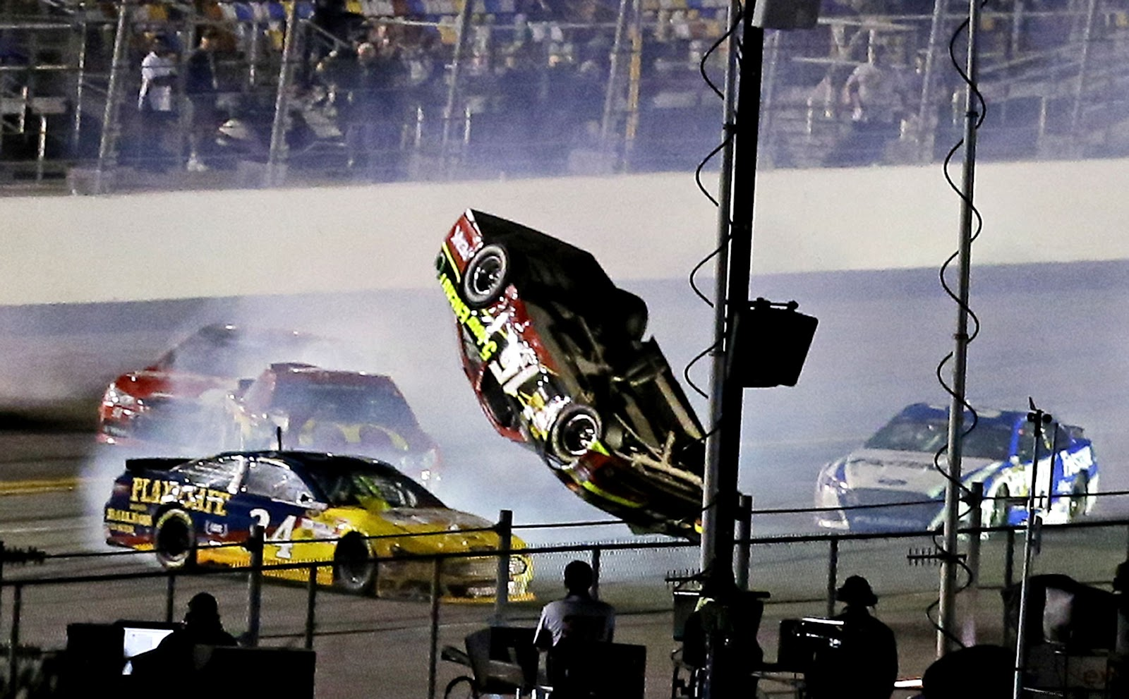 10 of the Worst Crashes in Recent NASCAR History   TheRichest
