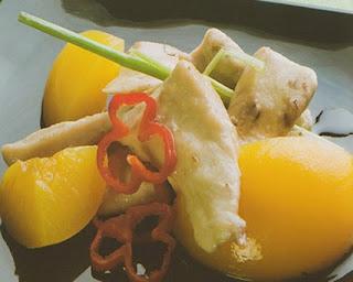 Lomitos de pollo hondashi
