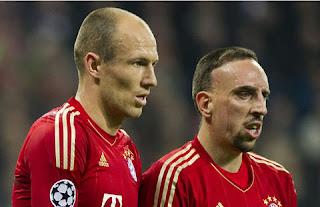 Robben y Ribery amenazan la estabilidad del Bayern