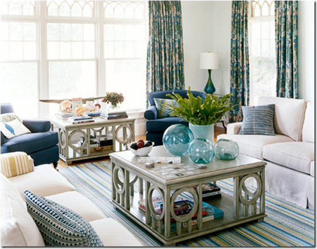 Coastal Decorating Living Room