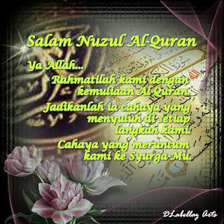 Salam Nuzul Al-Quran, nuzul al-quran, http://kanvaskehidupanku.blogspot.com/