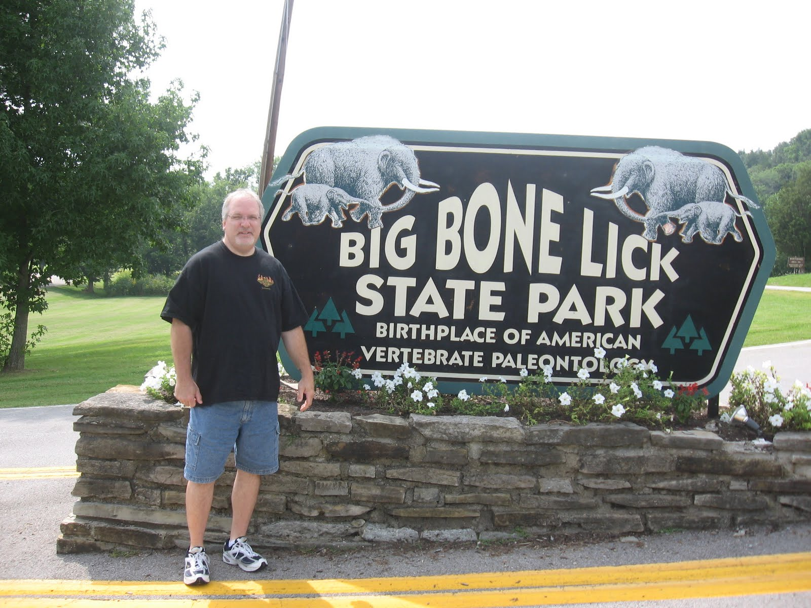 Found bone lick state park not simple