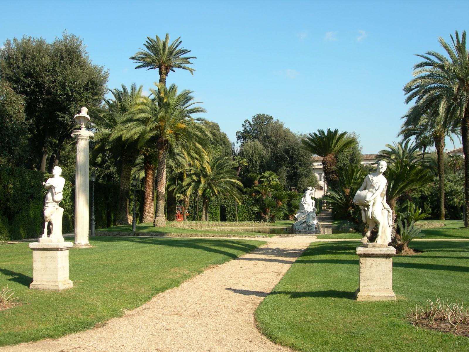 Bella questa italia - I giardini del quirinale ...