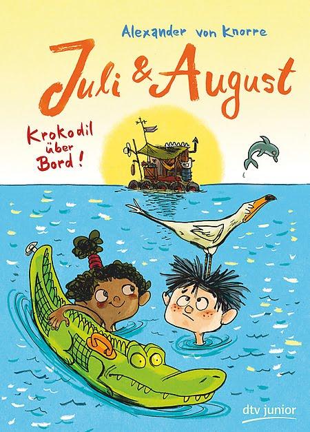 Juli & August - Krokodil über Bord!