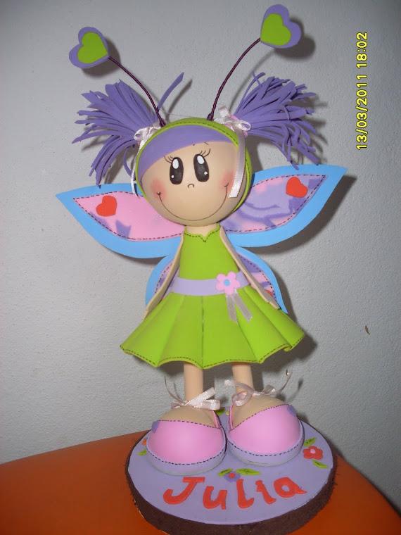 boneca personalizaada JULIA em e.a 3d.