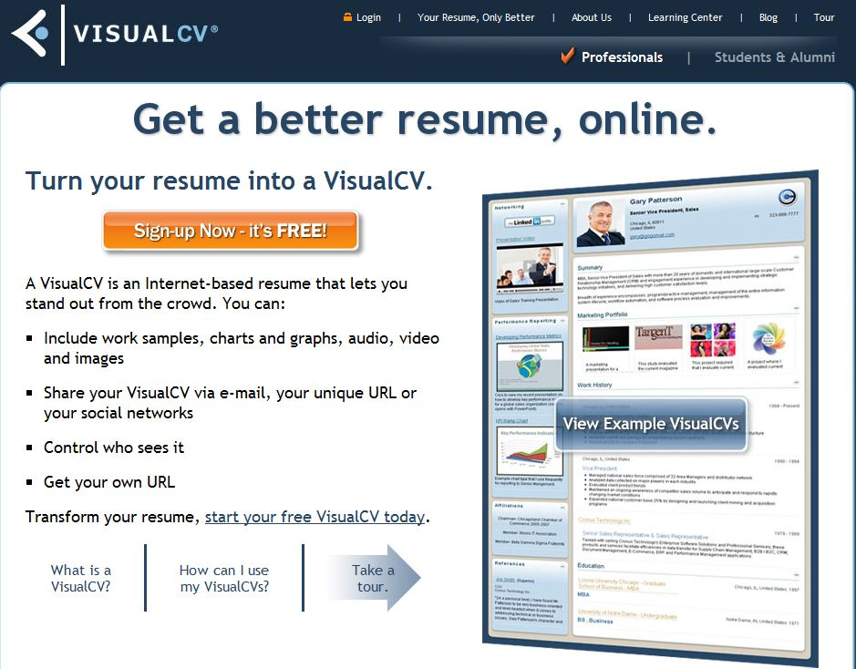 create your own cv free
