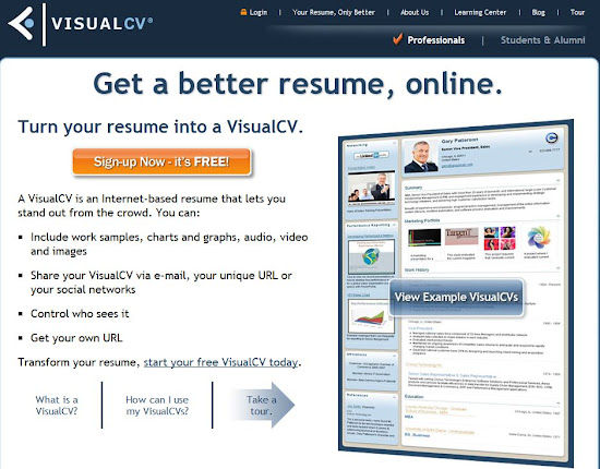 Build your resume free online