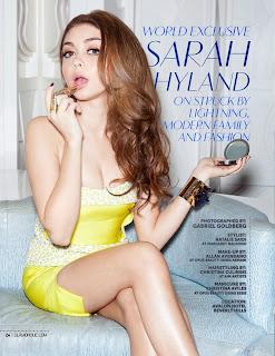 Sarah Hyland sexy - Haley Dunphy de Modern Family