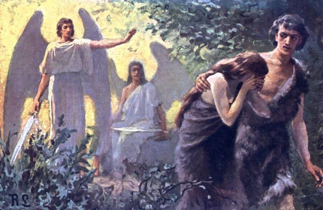 Estudio biblia genesis 3 expulsados del jard n for Jardin querubines