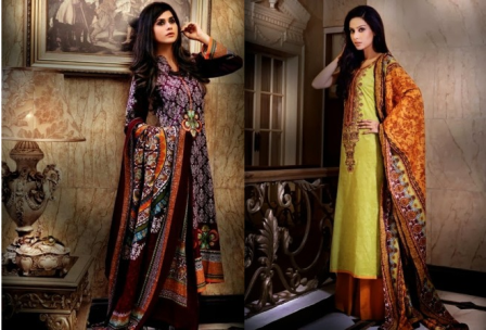 Alkaram Winter Dresses 2013