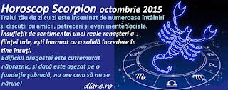 Horoscop Scorpion octombrie 2015