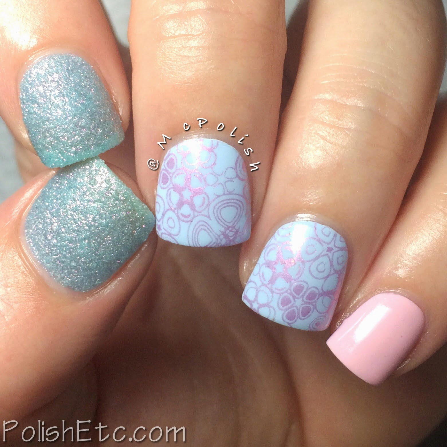 #31dc2014 - 31 Day Nail Art Challenge 2014 by McPolish - BLUE