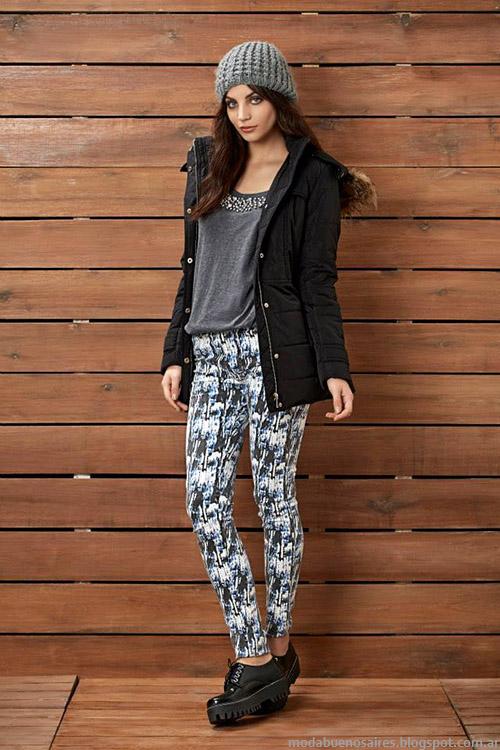 Kevingston Mujer pantalones estampados otoño invierno 2015. Moda otoño invierno 2015.