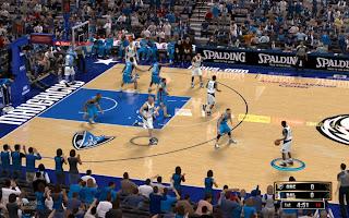 NBA 2K13 Dallas Mavericks Court American Airlines Center Patch