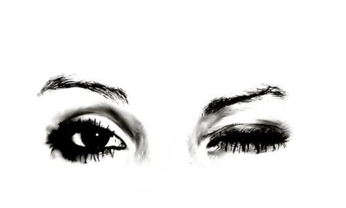 be you  noviembre 2011 Woman Winking Eyes Clip Art winking eye clip art ni