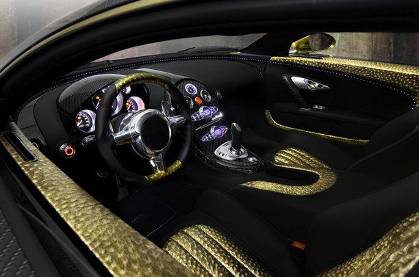 Cars World: Bugatti Veyron interior