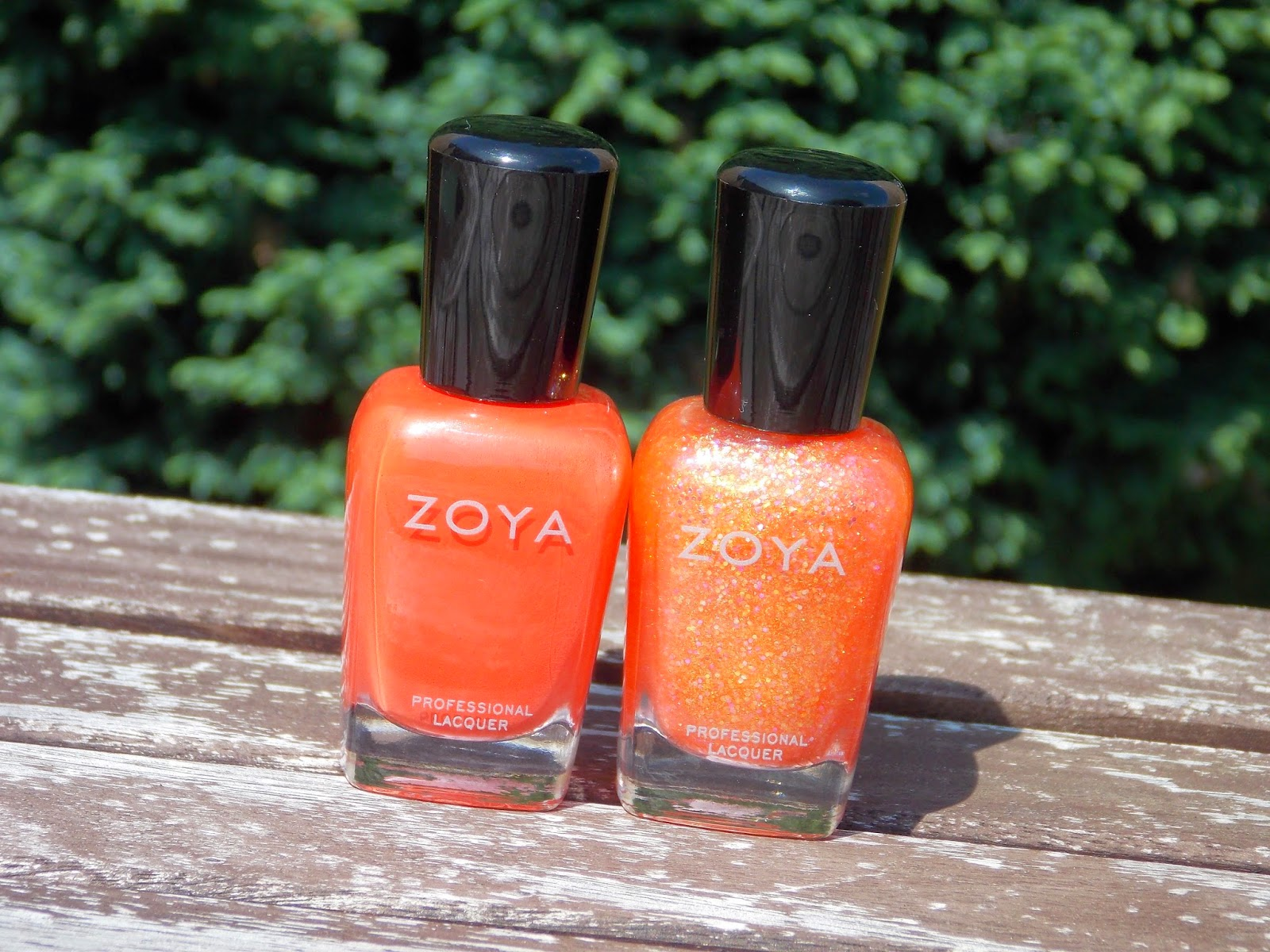 Zoya Nail Polish in Rocha and Zoya Nail Polish in Jesy