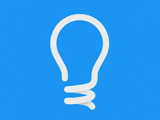 Lightbulb Logo (design minimalista)