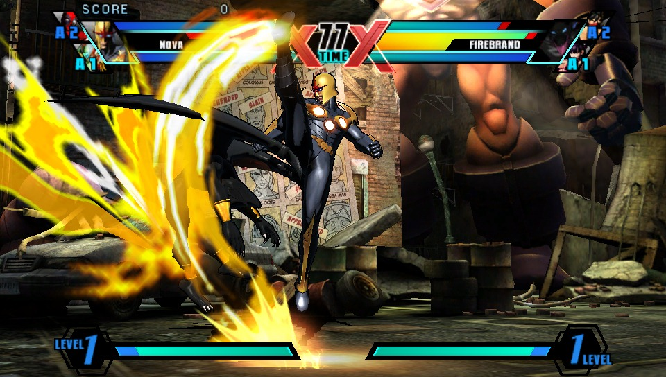 Рецензия на Ultimate Marvel vs Capcom 3 для PS Vita
