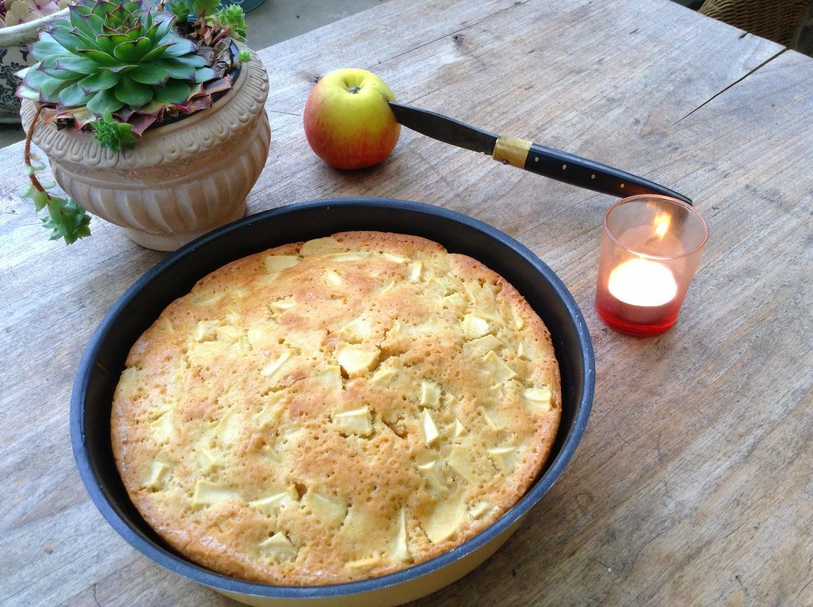 gâteau pommes recette automne