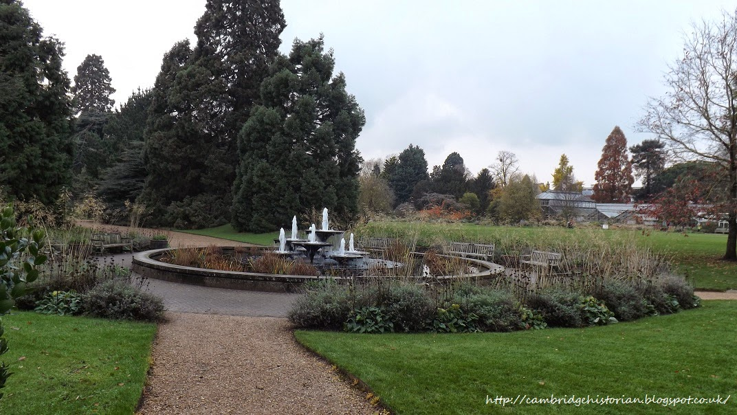 Cambridge Historian Cambridge University Botanic Garden