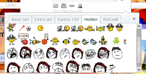 Cara memasang Hidden Emoticons Plurk di Firefox
