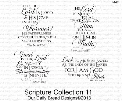 Our Daily Bread Designs, Scripture Collection 11