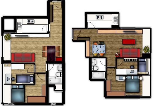 Planos de casas modelos y dise os de casas planos de for Casa de diseno de una planta