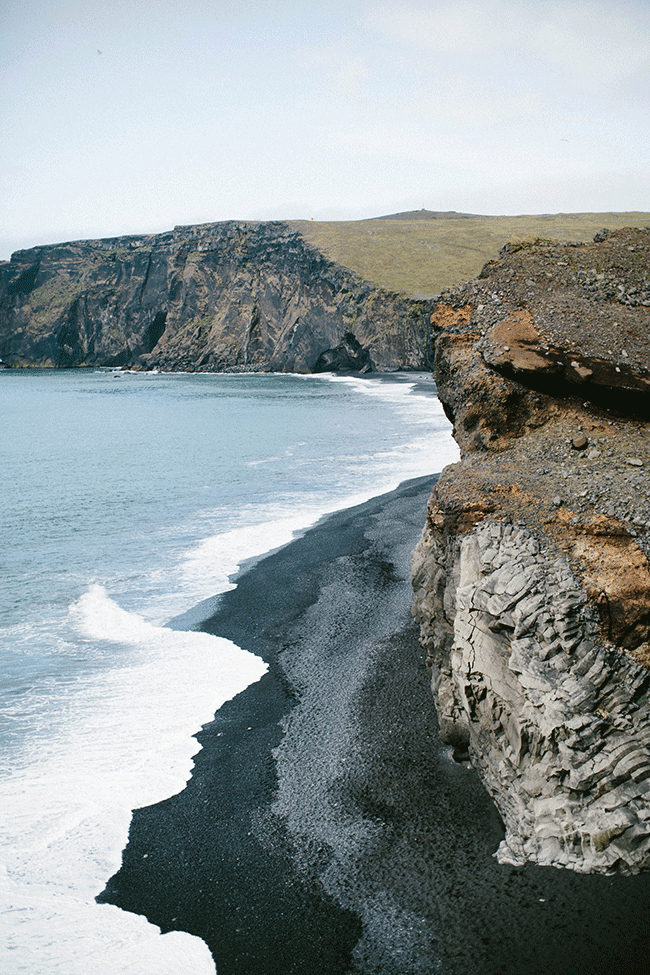 wildflowers blog iceland pt 3 vik black sand beach. Black Bedroom Furniture Sets. Home Design Ideas