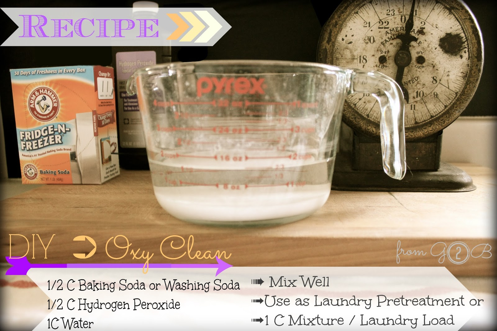 how to make your own oxyclean
