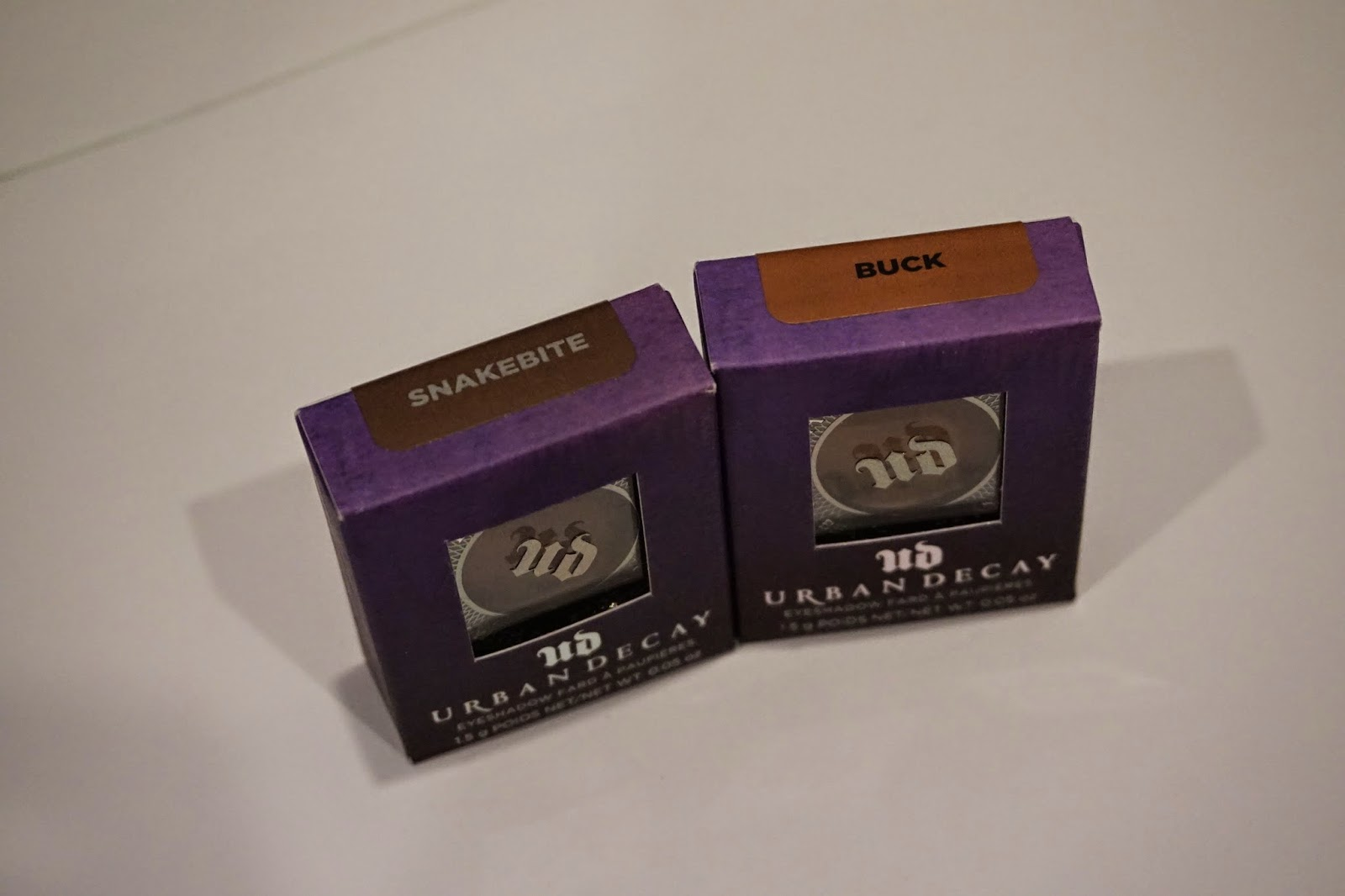 Sephora Haul and mini reviews - Urban Decay Snakebite and Buck - Dusty Foxes Beauty Blog